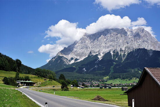 Germany's highest mountain, the Zugspitze (photo © Bernd Feurich / dreamstime.com).