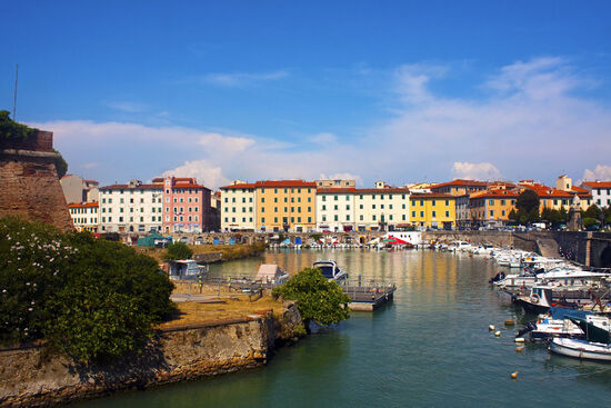 The Tuscan city of Livorno thrived as an early example of a free port (photo © Duccio / dreamstime . com).