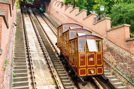 Castle Hill funicular in Budapest (photo © Michael Paschos / dreamstime . com)