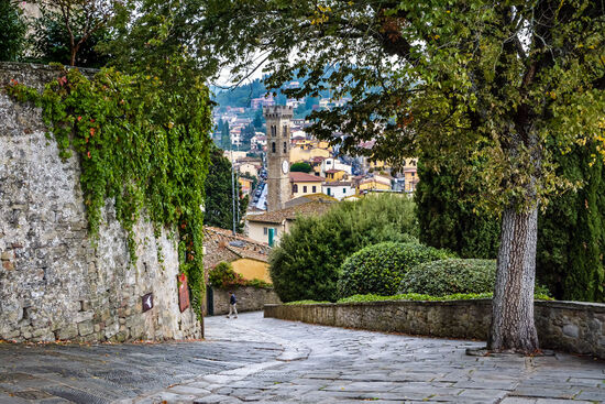 View of Fiesole with its small cathedral (photo © Henrik Stovring / dreamstime)
