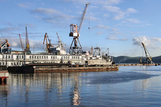 Ports in northern Norway are looking to challenge Murmansk (pictured here), the Russian port on the Barents Sea coast (photo © Tupungato / dreamstime.com).