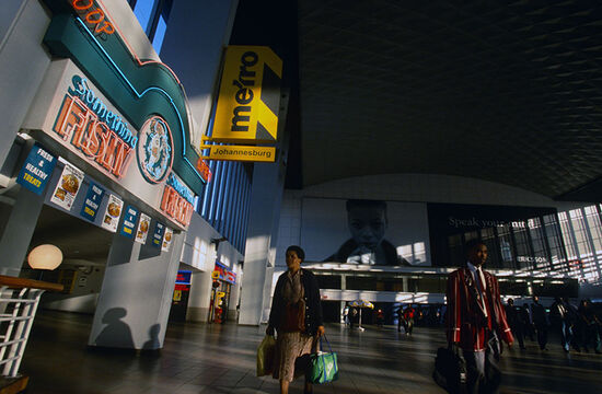 Park station in Johannesburg, South Africa (photo © Alan Gignoux / dreamstime.com).