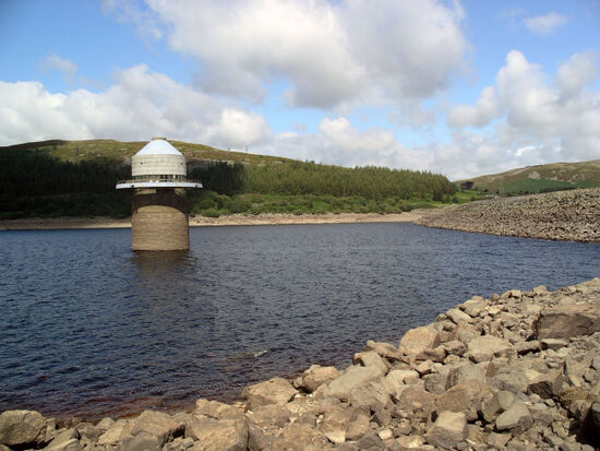 50 years ago, the village of Capel Celyn in North Wales was sacrificed to make way for a new reservoir (photo by Velela).
