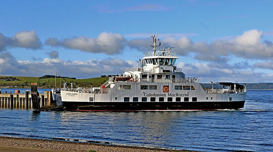 Explore the Scottish islands and the Clyde coast with Caledonian MacBrayne. A CalMac ferry at Largs in the Firth of Clyde (photo © Robert Flynn / dreamstime.com).