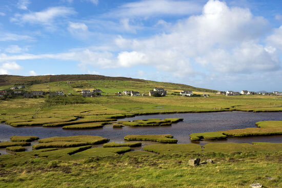 The crofting settlement of Northton on South Harris in Scotland's Outer Hebrides (photo © hidden europe).