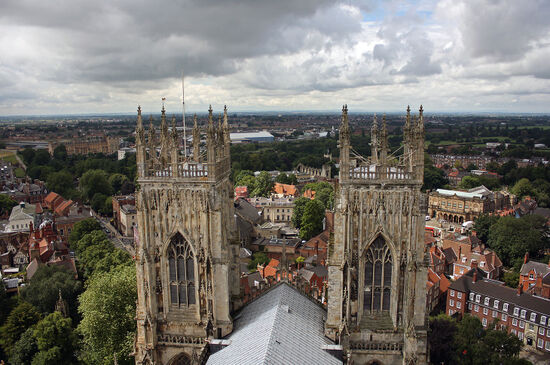 View over the city from York Minster (photo © Borna Mirahmadian / dreamstime.com).