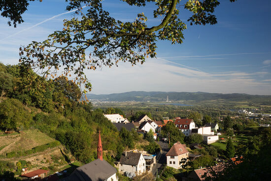 Surveying the scene: the small town of Krupka on the edge of the Ore Mountains in Bohemia. The region features in issue 50 of hidden europe magazine (photo © hidden europe).