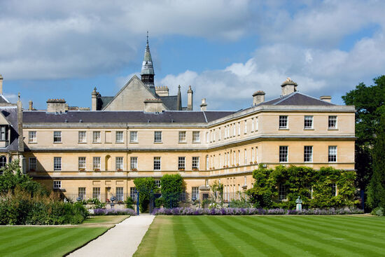 John Henry Newman was admitted to Trinity College Oxford (pictured here) in December 1816 (photo © Julian Fletcher / dreamstime.com).