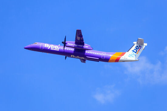 Flybe is one of the operators which applied for support from the UK Government's Regional Air Connectivity Fund (RACF) to set up new air routes (photo © Richair / dreamstime.com).