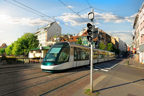Strasbourg's trams are going international: from April 2017 one of the city's tram lines is being extended across the border into Germany (photo © Sergij Kolesnyk / dreamstime.com).