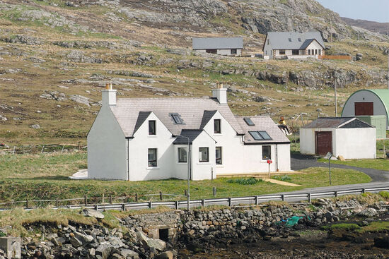 James' View, a great base for exploring the island of Barra (photo © hidden europe).