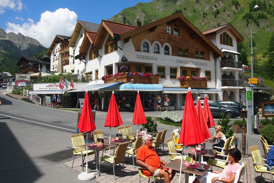 The Swiss village of Samnaun is a duty-free haven (photo © hidden europe).