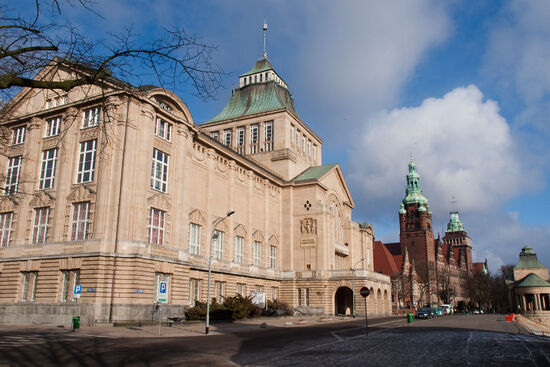 The National Museum in Szczecin,formerly the Maritime Museum (photo © hidden europe).