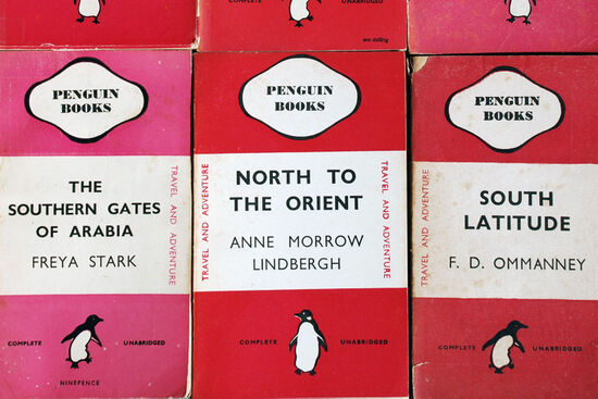 Image of Cerise Penguin covers reproduced by permission of Penguin Books Ltd (photo by Duncan JD Smith).