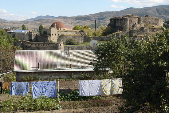 The fortress in the rabati (Old Town) of Akhaltsikhe (photo © Laurence Mitchell).