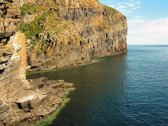 The Whaligoe steps in Caithness, Scotland (photo © Paula Fisher / dreamstime.com).