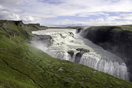 Goðafoss — the 'waterfall of the Gods' in northern Iceland (photo © Bluesunphoto / dreamstime.com).